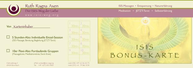 ISIS-Bonuskarte